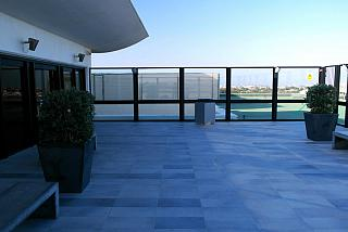 The observation deck at the airport Malta