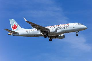 The Embraer 175LR Air Canada Express
