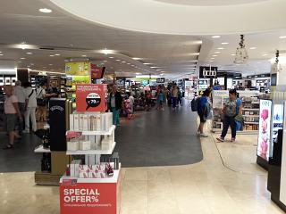 In a Duty Free store at the airport of Saint Petersburg Pulkovo