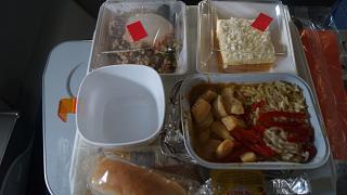 Питание на рейсе Аэрофлота Москва-Гавана