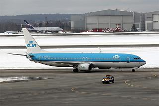 Boeing-737-800 KLM in Sheremetyevo airport