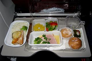 Питание на рейсе Красноярск-Москва авиакомпании ЮТэйр