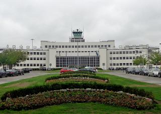The historic airport terminal Dublin, built in 1941