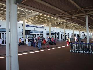 Вход в терминал 2 аэропорта Анталья
