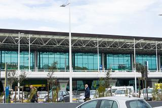 Terminal 1 of the airport Rome Fiumicino