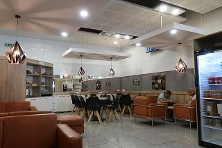 Business lounge of Burgas Airport