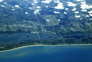 The town of Vero beach (Vero Beach), Florida