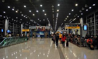 Area of the gates in T3 of the airport Sao Paulo Guarulhos