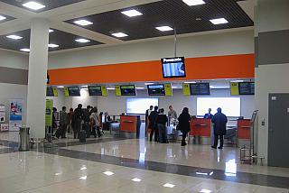 Регистрация на рейс Москва-Рига авиакомпании airBaltic в терминале Е аэропорта Шереметьево