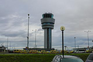 The control tower of Sofia airport