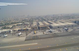 Cargo terminal Dubai airport