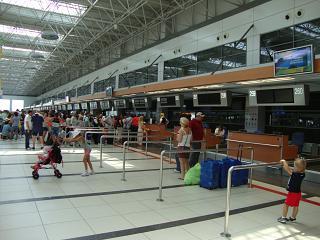 Стойки регистрации в Терминале 2 аэропорта Анталья
