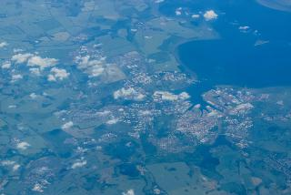 The city of Rostock in Germany