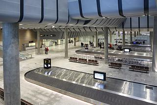 Hall baggage claim international flights to the new terminal of Pulkovo airport