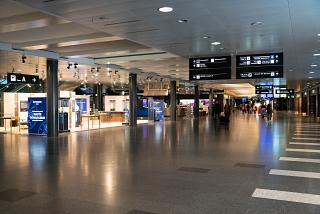 The Airside in the passenger terminal of Zurich airport