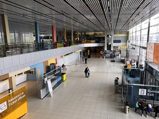 The total arrivals at the airport of Ekaterinburg Koltsovo