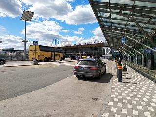 Terminal 2 of Helsinki airport