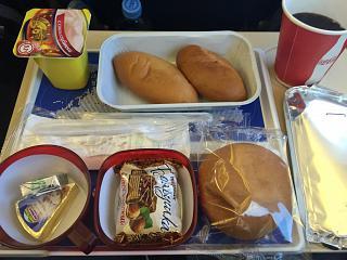 Бортпитание на рейсе Тюмень-Сочи авиакомпании