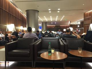 Business lounge at Hamad airport