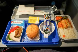 "Muslim meal on the flight/Petersburg-Omsk airline ""Russia"""