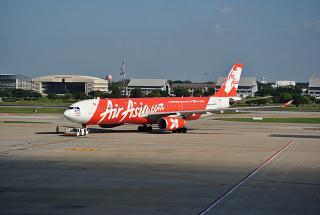 Airbus A330-300 авиакомпании AirAsia X в аэропорту Бангкок Дон Муанг