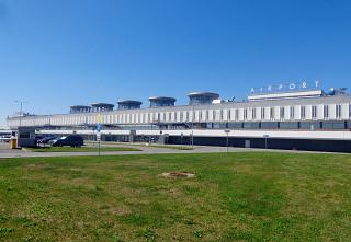 The domestic sector of the passenger terminal of Pulkovo airport (old terminal Pulkovo-1)