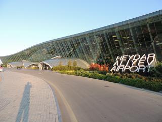 Terminal 1 of the airport of Baku named after Heydar Aliyev