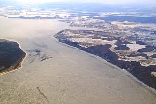 Kuibyshev reservoir near Samara