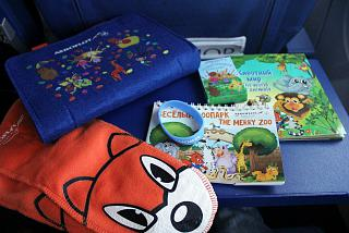 Side set of Aeroflot for children up to 5 years