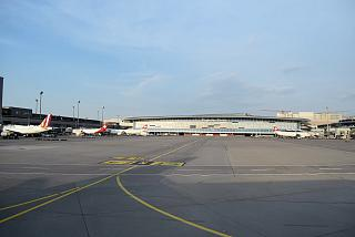 General view of the Zurich airport