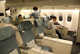 The Business-class-Boeing-777-200 airlines Korean Air