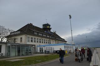 The terminal of the airport Braunschweig-Wolfsburg