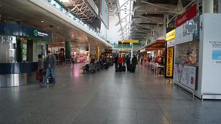 In terminal 1, Lisbon Portela airport