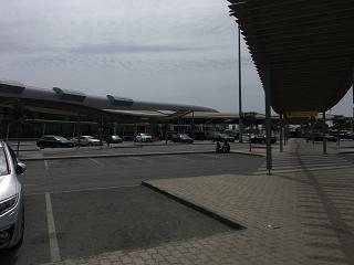 The passenger terminal of the airport of Faro