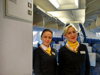 Flight attendants of International airlines of Ukraine