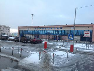 Аэровокзал аэропорта Архангельск Талаги