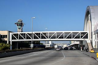 The airport's terminal 4 Los Angeles