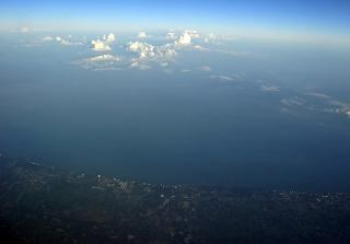 Clouds over the Gulf of Thailand