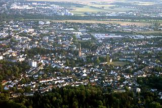 The city of Siegburg near Cologne