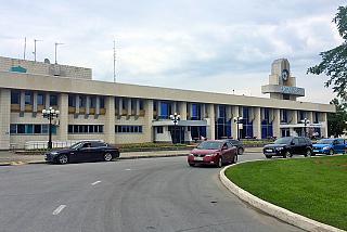 Аэровокзал аэропорта Липецк