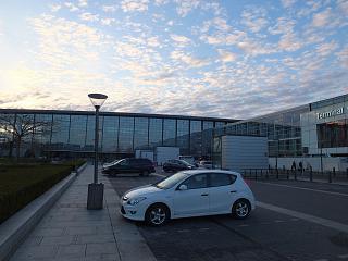 Terminals 2 and 3 of the Copenhagen airport Kastrup