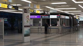 Representative offices of the airlines in terminal 2 of Belgrade airport Nikola Tesla