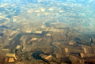 Fields in the South of Russia