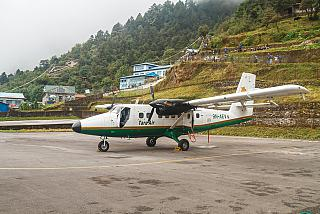 DHC-6 Twin Otter airline Tara Air in Lukla airport