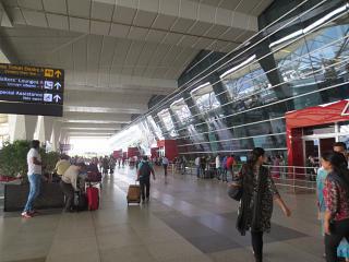 At Delhi airport Indira Gandhi