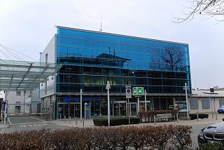 The administration building of the airport of Nuremberg