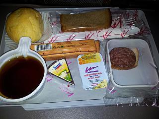 Питание на рейсе Москва-Сочи ВИМ-авиа