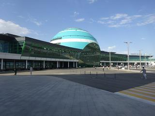 Terminal 2 of the airport of Astana