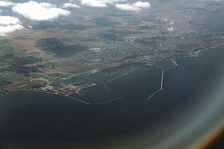 The Romanian city port Constanta
