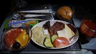 Бортпитание на рейсе Белград-Москва авиакомпании Air Serbia